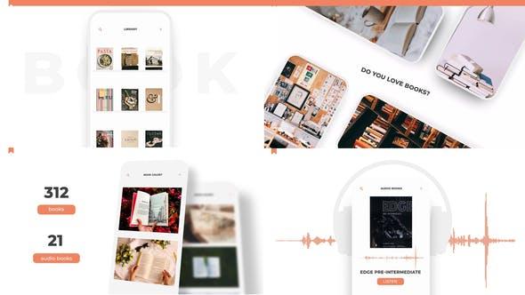 Videohive Book App Promo 26492691