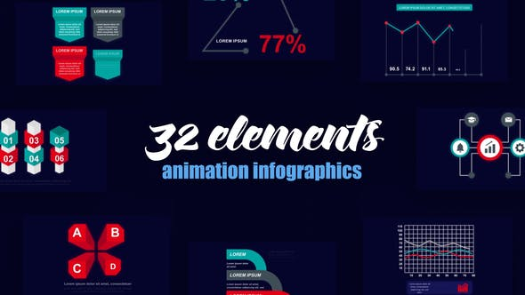 Videohive Business Infographics Vol.52 28113794