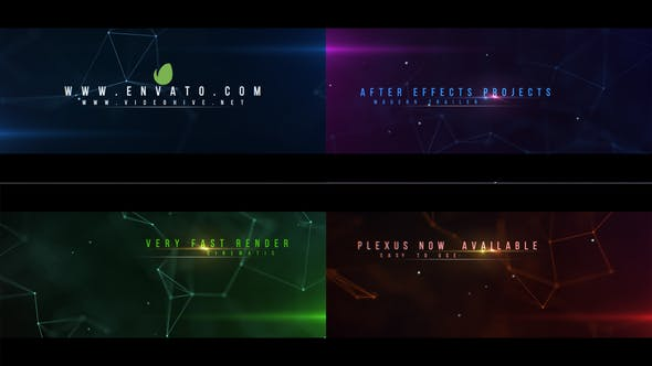 Videohive Cinematic Plexus Trailer 23248842