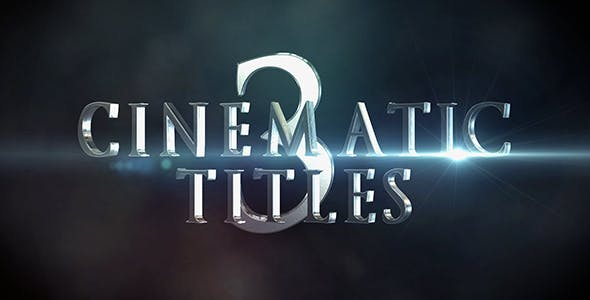 Videohive Cinematic Titles 3 20436163