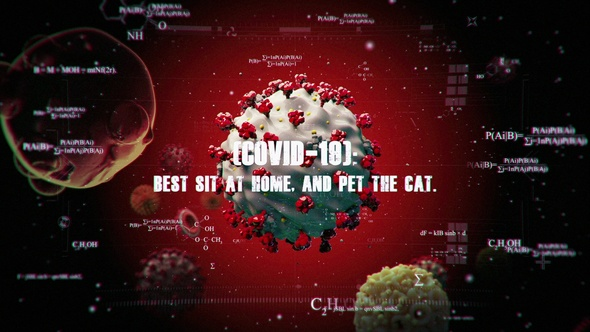Videohive Coronavirus COVID-19 Intro 26290541