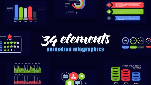 Videohive Corporate Infographics Vol.50 28113691