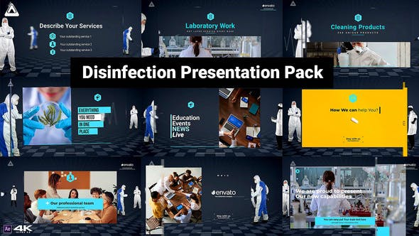 Videohive Desinfection Presentation Pack 27502853