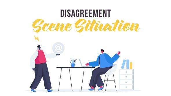 Videohive Disagreement - Scene Situation 28435468