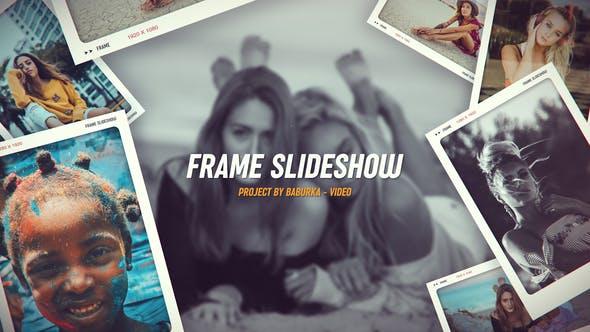 Videohive Dynamic Frame Slideshow 24566280