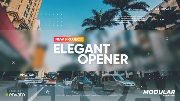 Videohive Elegant Modern Promo 28580173