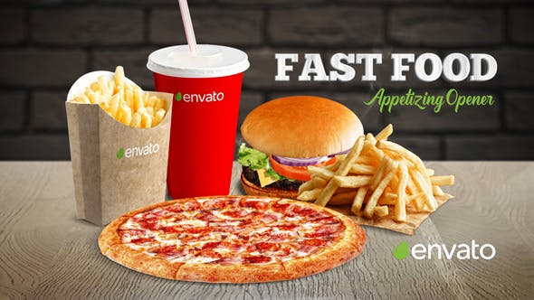 Videohive Fast Food Appetizing Opener 23128394