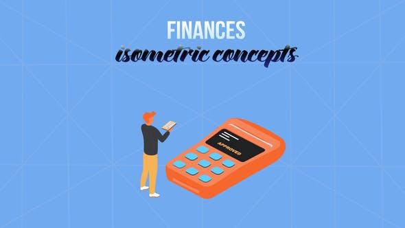 Videohive Finances - Isometric Concept 28231983