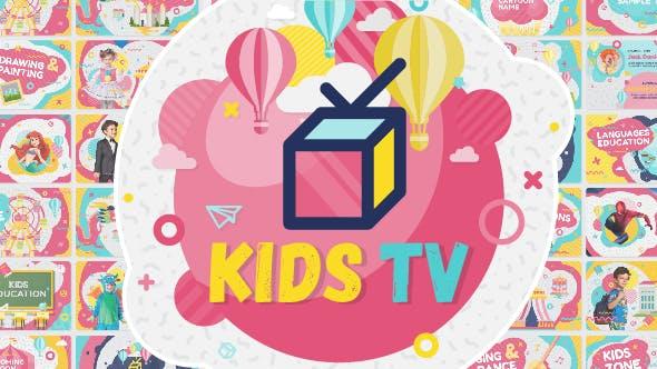 Videohive Kids Tv - Broadcast Social Channel Design 15890764