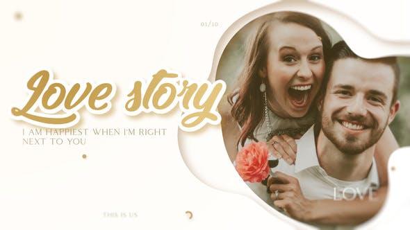 Videohive Love Story - Romantic Slideshow 23240666