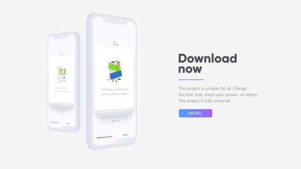 Videohive Mobile App Promo 22432280