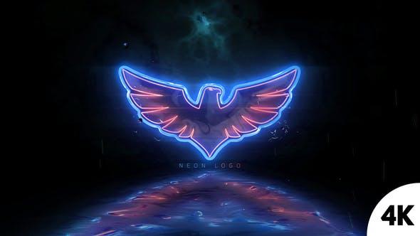 Videohive Neon Logo Reveal V2 22093392