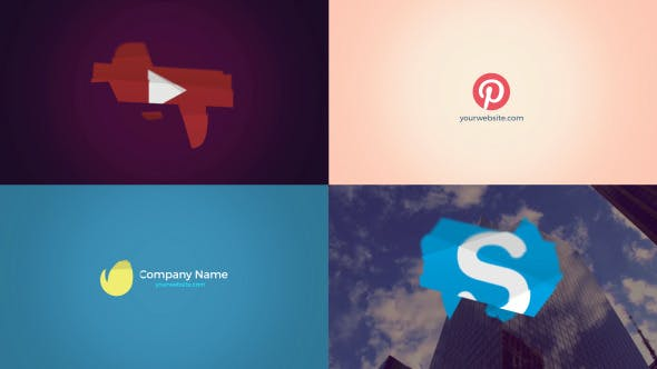 Videohive Animated Logo - Logo Reveal 13352240