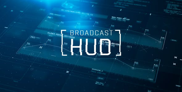 Videohive Broadcast HUD 19351404