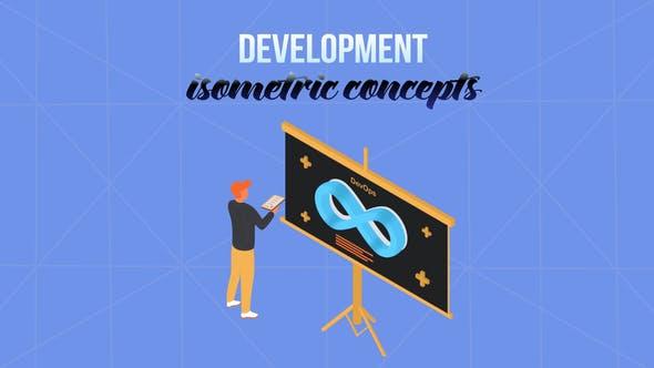 Videohive Development - Isometric Concept 28231974