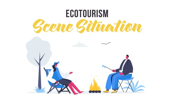Videohive Ecotourism - Scene Situation 28435484