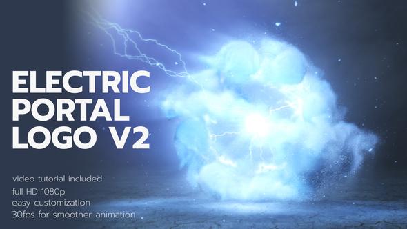 Videohive Electric Portal Logo 2 28112155