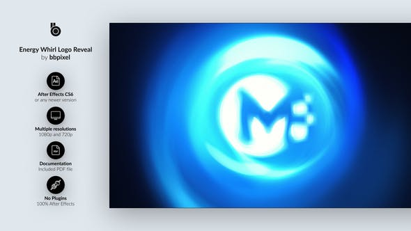 Videohive Energy Whirl Logo Reveal 27540429