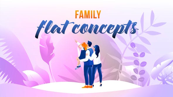 Videohive Family - Flat Concept 27646523