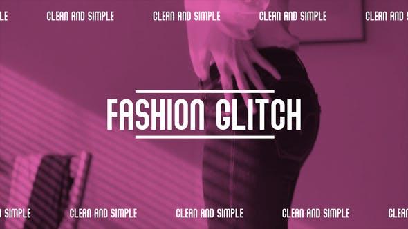 Videohive Fashion glitch opener 27927361