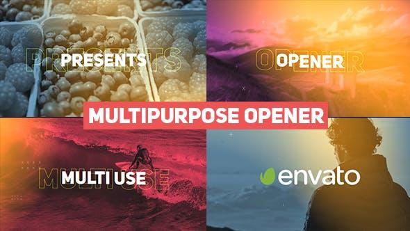 Videohive Fast Multipurpose Opener 20757232