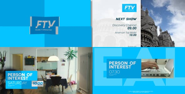Videohive Folding Broadcast Pack 8866356