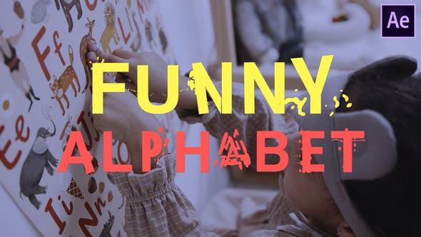 Videohive Funny Alphabet 28000907