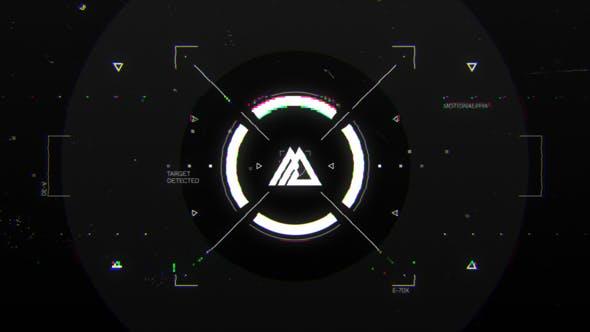 Videohive Glitch HUD Logo 29016689
