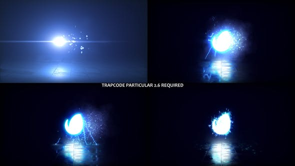Videohive Glowing Particals Logo Reveal 38 27749528