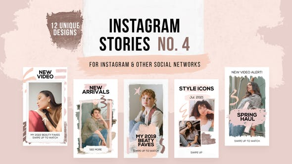 Videohive Hand Drawn Instagram Stories 27534872