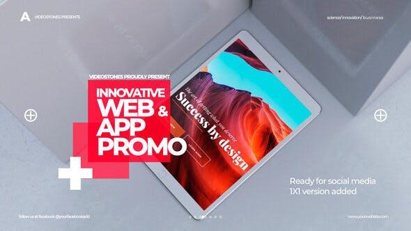 Videohive Innovative App - Web Promo 27659685