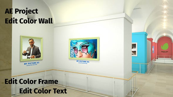 Videohive Louvre Petite Art Gallery 28598740