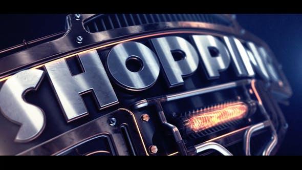 Videohive Mechanika Logo 27076245