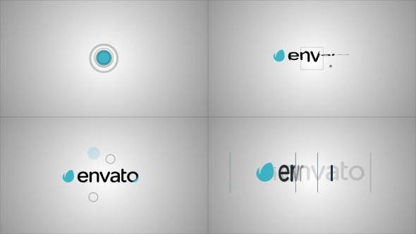 Videohive Minimal Logo Sting Pack 9366658