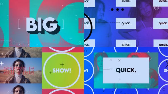 Videohive Modern Stylish Abstract Intro 28469940