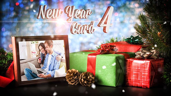 Videohive New Year Card 4 18719725