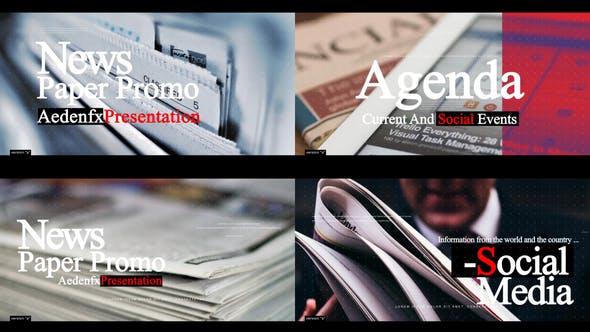 Videohive News Paper Promo 24809943