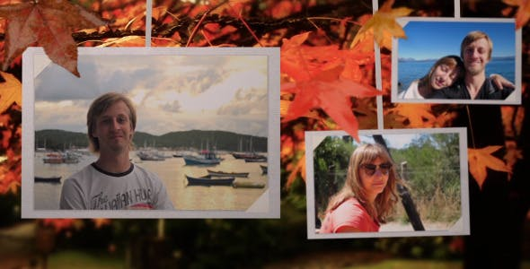Videohive Photo Gallery on an Autumn Afternoon 8689516
