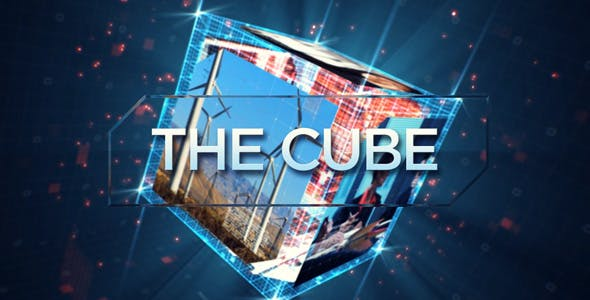 Videohive The Cube Intro 20387521