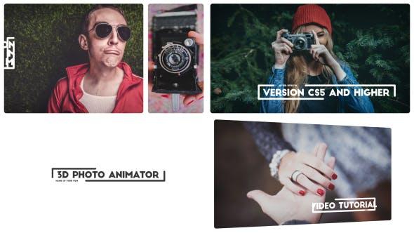 Videohive 3D Photo - Modern Photo 13159785