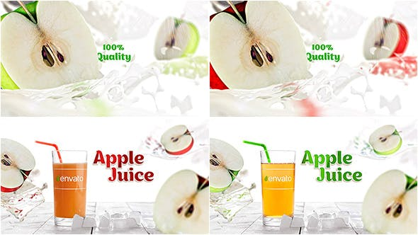 Videohive Apple Juice Opener 19524579