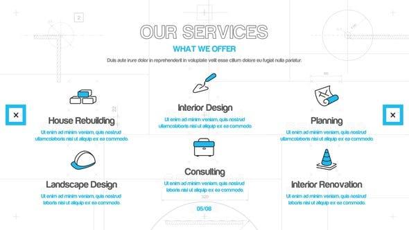 Videohive Architect Company Presentation 28410885