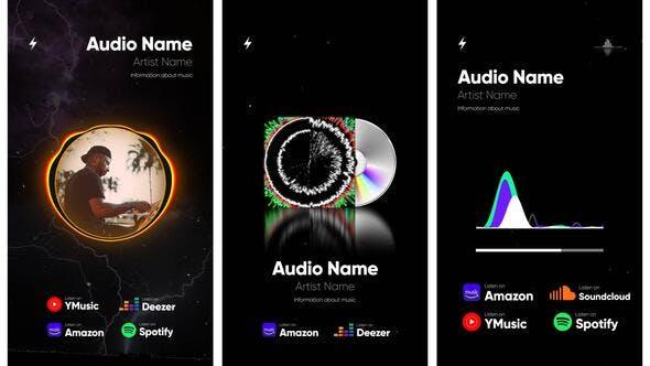 Videohive Audio Spectrum Visualization Pack 27996282
