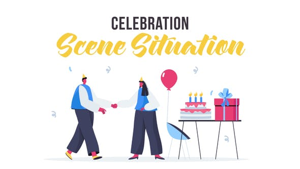 Videohive Celebration - Scene Situation 28435446
