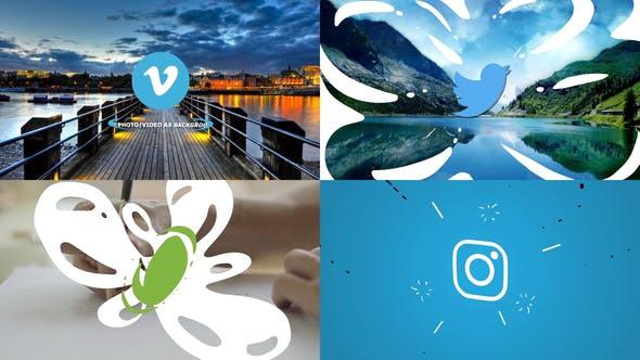 Videohive Clean Liquid Logo 27561310
