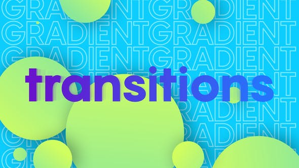 Videohive Colorful Gradient Transitions 27405281