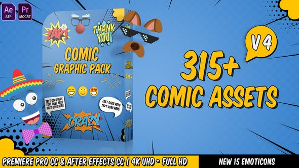 Videohive Comic Titles 22645319