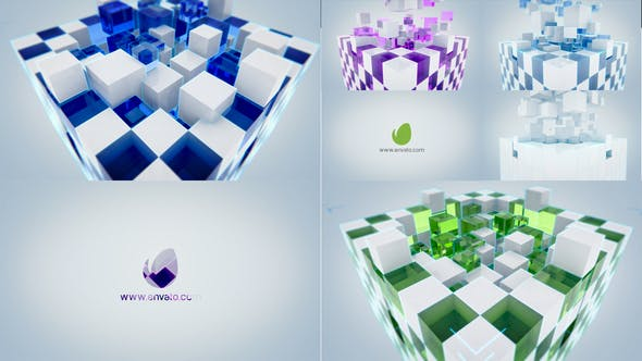Videohive Cube Logo Reveal 23340213