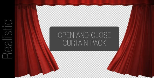 Videohive Curtain Open And Close Pack 2543761