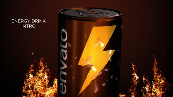 Videohive Energy Drink Intro 27750895